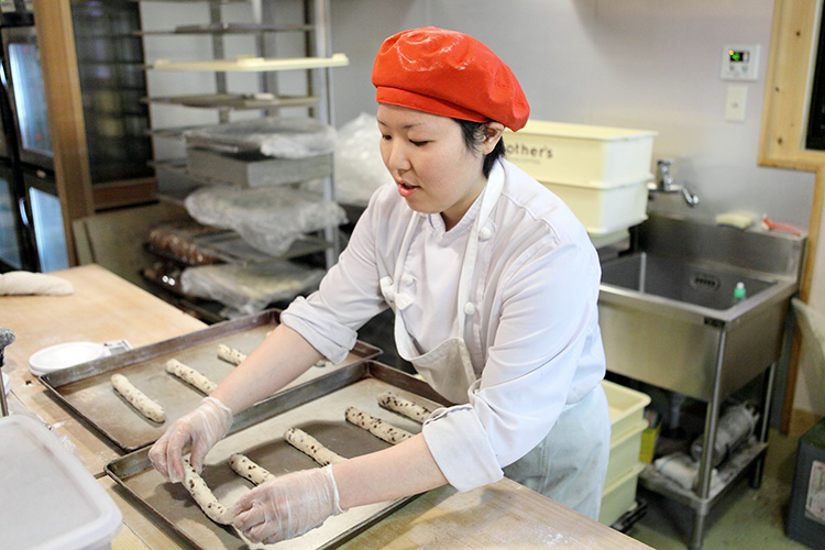 9 Nữ làm bánh mì tại Tokyo tháng 11/2014 (lương tốt)