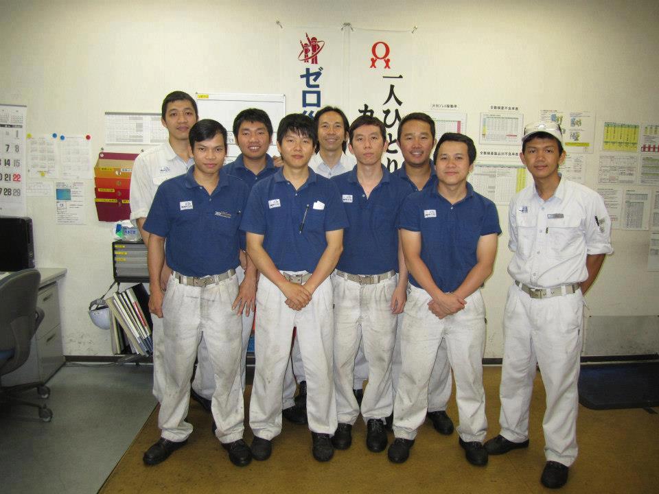 Đào tạo Thực tập sinh đi thực tập kỹ năng tại Nhật Bản