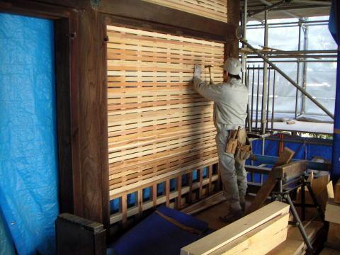 12 Nam làm mộc xây dựng Toyama tháng 12/2014
