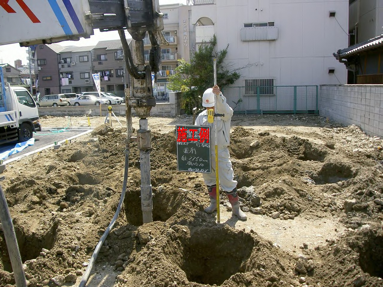 6 Nam khoan giếng nước ngầm tại Fukuoka 12/2014