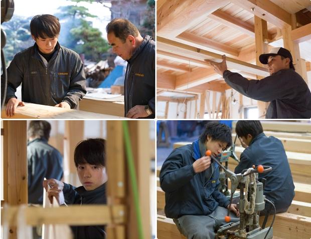 28 Nam xuất khẩu lao động làm mộc tại Chiba tháng 1/2015