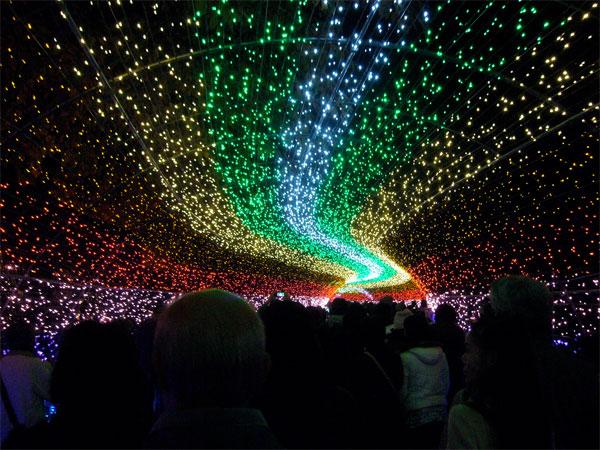 Thiên đường ánh sáng ở Nhật Bản