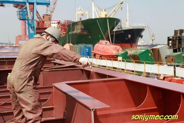 Tuyển gấp 10 Nam làm sơn cơ khí tại Kagawa xuất cảnh nhanh
