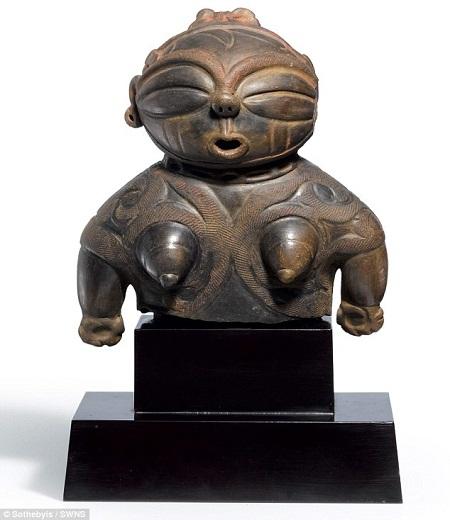 """Bức tượng cổ """"phong nhũ phì đồn"""" của Nhật có giá bán 34 tỉ đồng"""