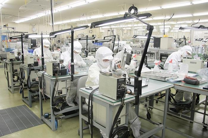 Tuyển Gấp 12 Nữ lắp ráp linh kiện điện tử tại Nagano thu nhập tốt