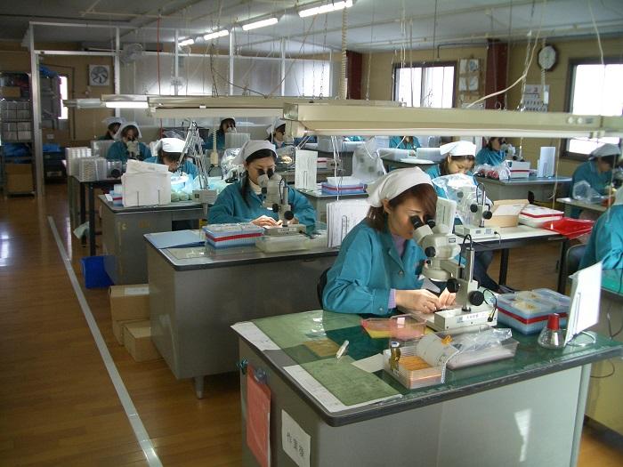Ưu tiên đặc biệt 8 Nữ kiểm tra linh kiện máy tại Nagano