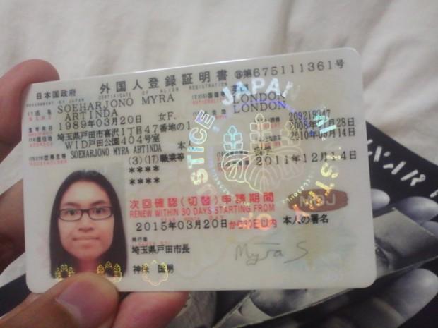 Thông tin cần biết về thẻ người nước ngoài ở Nhật Bản
