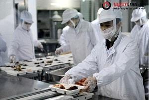 Xuất khẩu lao động Nhật Bản ngành chế biến thực phẩm có vất vả không?