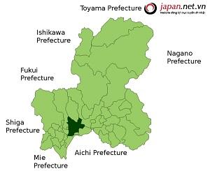 Bản đồ tỉnh Gifu, cảnh đẹp, món ngon Gifu nức lòng du khách