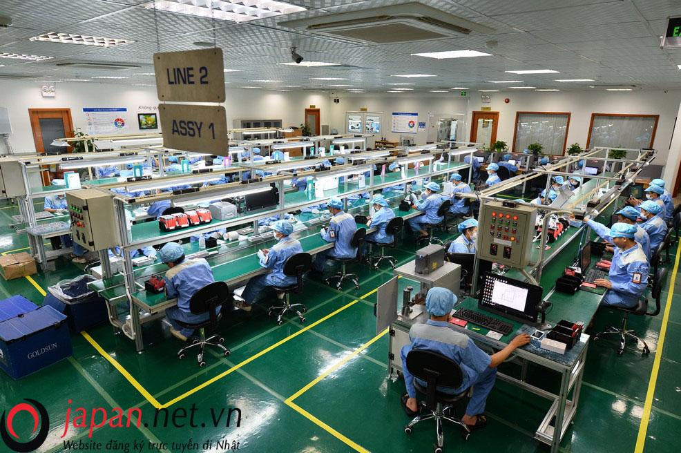 Đơn hàng lắp ráp linh kiện điện tử lương cao dành cho 35 nam lao động tỉnh Bắc Ninh