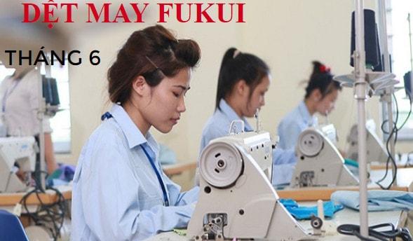 Mới trúng tuyển đơn dệt may tại Fukui cần chuẩn bị gì?