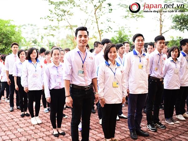 Hình ảnh thực tập sinh tại trung tâm đào tạo TTC Việt Nam