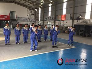 Luyện tập lắp giàn giáo tại trung tâm 3 TTC Việt Nam