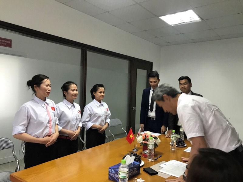 Giới thiệu bản thân bằng tiếng Nhật của thực tập sinh taị TTC Việt Nam