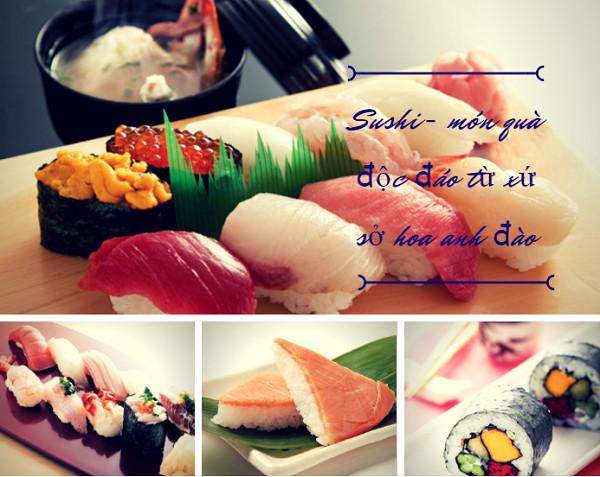 Sushi là gì? Top 10 sushi phổ biến nhất Nhật Bản