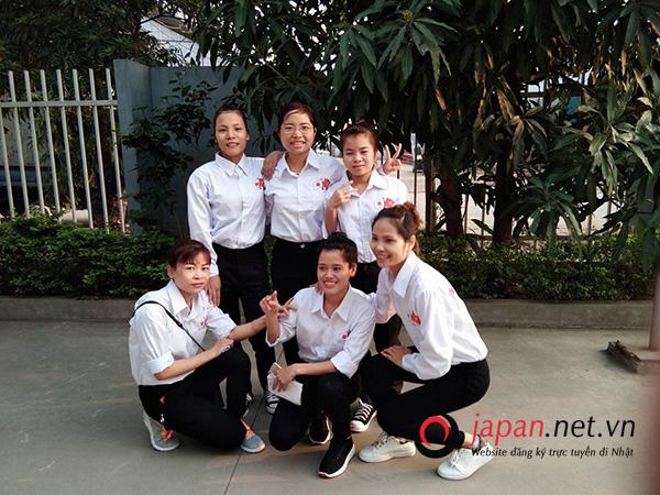 Ngày hội thi tuyển tại trung tâm XKLĐ Nhật TTC Việt Nam