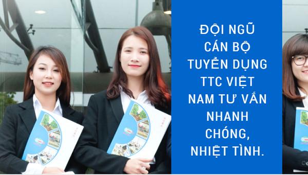 Đội ngũ cán bộ tư vấn tuyển dụng XKLĐ phòng Nhật Bản 9 công ty TTC Việt Nam