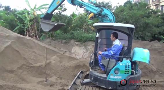 Thi tuyển đơn hàng XKLĐ Nhật lái máy xây dựng tại công ty chúng tôi
