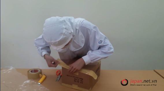 Thi tuyển đơn hàng đóng gói hàng hóa đi XKLĐ Nhật tại trung tâm 3