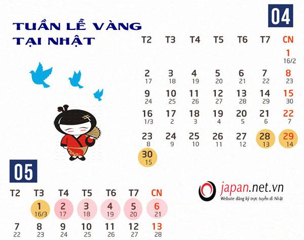 Chính thức công bố lịch nghỉ lễ của Nhật Bản trong tuần lễ vàng 2019