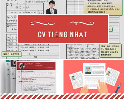 Tổng hợp các mẫu đơn xin việc tiếng Nhật- CV tiếng Nhật đốn tim các nhà tuyển dụng