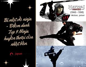 Bí mật về ninja - Điểm danh Top 9 Ninja huyền thoại của nhật bản