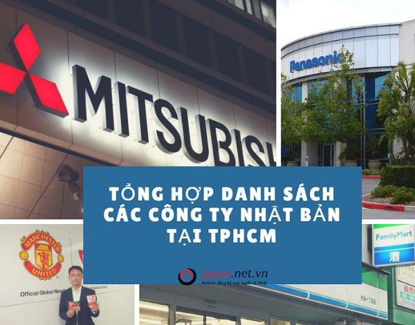 Tổng hợp danh sách các công ty Nhật Bản tại tpHCM