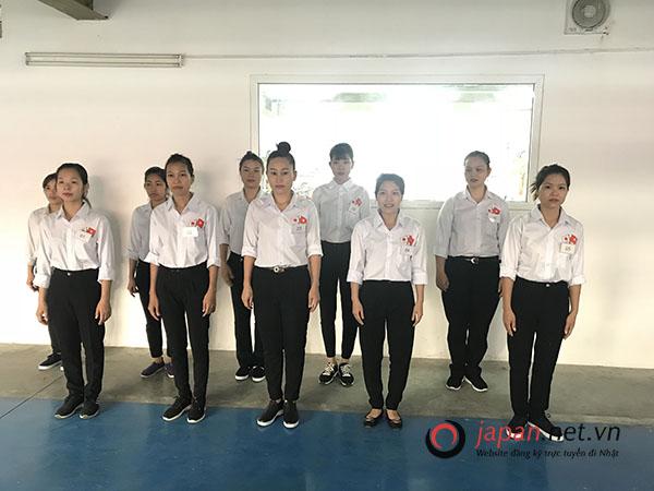 TTC Việt Nam tổ chức thi tuyển đơn hàng may aó sơ mi tại Aomori Nhật Bản
