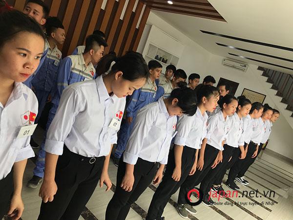 Tổ chức thi tuyển thành công 6 đơn hàng tại trung tâm đào tạo TTC
