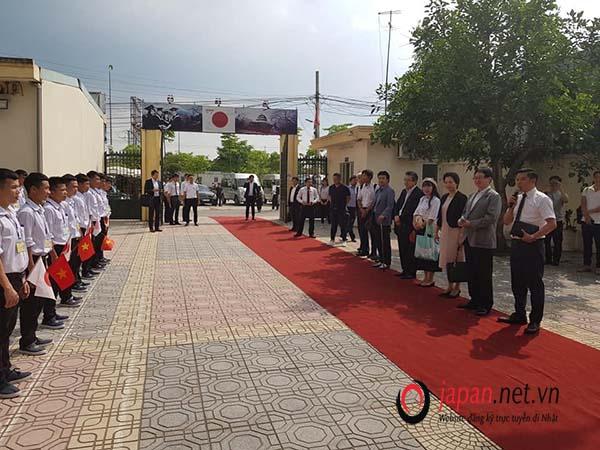 Đón tiếp đoàn đối tác Nhật Bản sang thăm và làm việc tại TTC Việt Nam