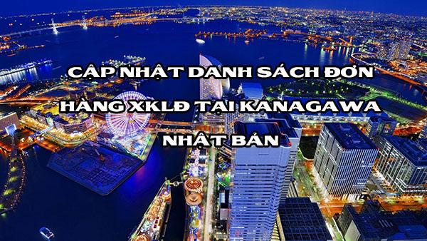 Cập nhật danh sách đơn hàng XKLĐ tại Kanagawa Nhật Bản