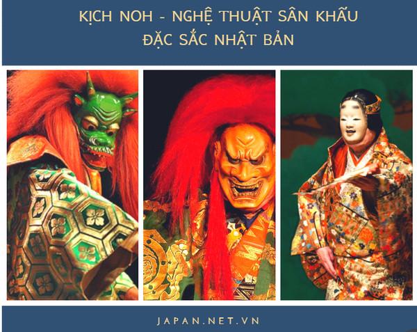 Kịch noh - Nghệ thuật sân khấu đặc sắc Nhật Bản