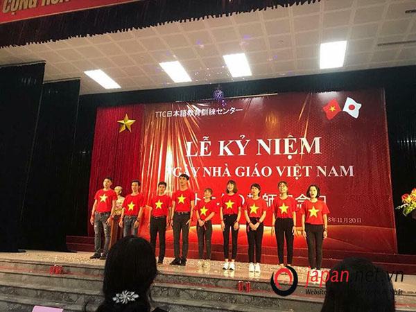 Ngày nhà giáo việt nam cùng các thầy cô tại trung tâm đào tạo TTC Việt Nam