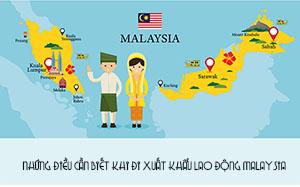 Những điều cần biết khi đi xuất khẩu lao động Malaysia 2019