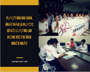 Vượt qua Đài Loan, Nhật Bản là nước có số lượng lao động Việt đi XKLĐ nhiều nhất