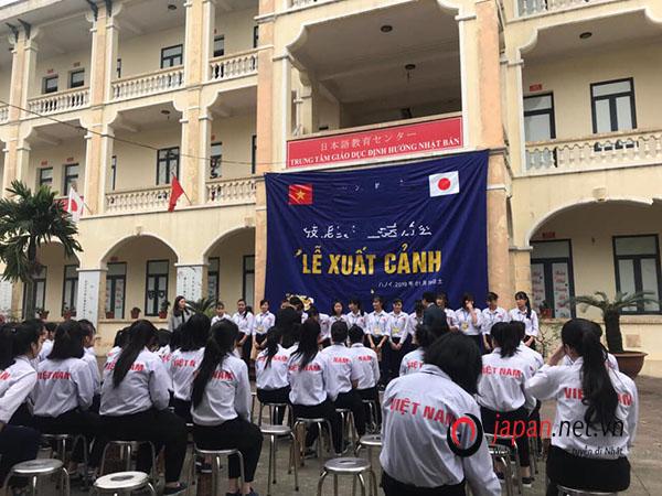TTC Việt Nam tổ chức chia tay cho gần 60 thực tập sinh xuất cảnh tháng 04/2019