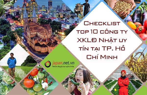 Checklist top 10 công ty XKLĐ Nhật uy tín tại TP. Hồ Chí Minh