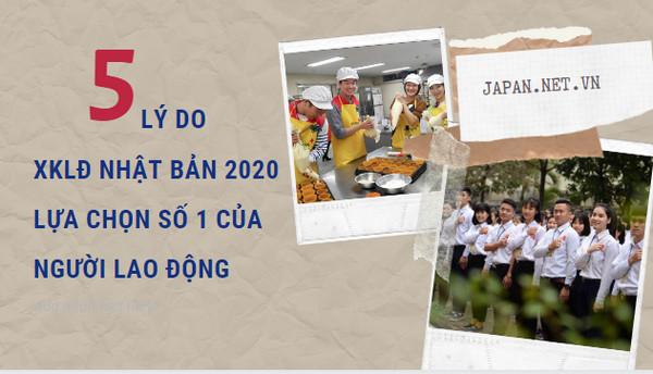 5 lý do XKLĐ Nhật Bản 2021 lựa chọn số 1 của người lao động