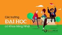 Danh sách những trường đại học có ngành ngôn ngữ nhật tại Việt Nam