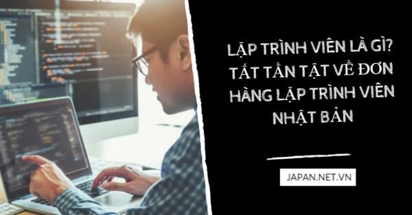 Lập trình viên là gì? Tất tần tật về đơn hàng lập trình viên Nhật Bản