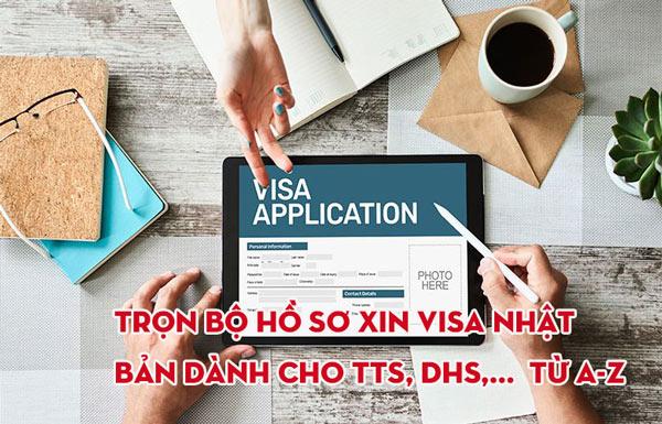 Trọn bộ hồ sơ xin visa Nhật Bản dành cho TTS, DHS,...  từ A-Z