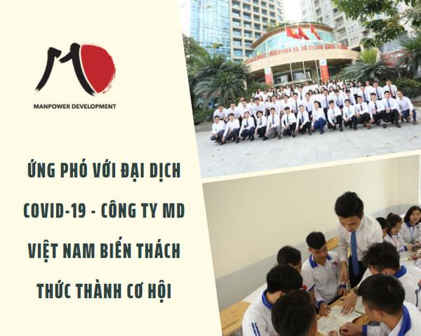 Ứng phó với đại dịch COVID-19 - Công ty MD Việt Nam biến thách thức thành cơ hội