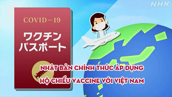 TIN SOCK - Nhật Bản chính thức áp dụng hộ chiếu Vaccine với Việt Nam