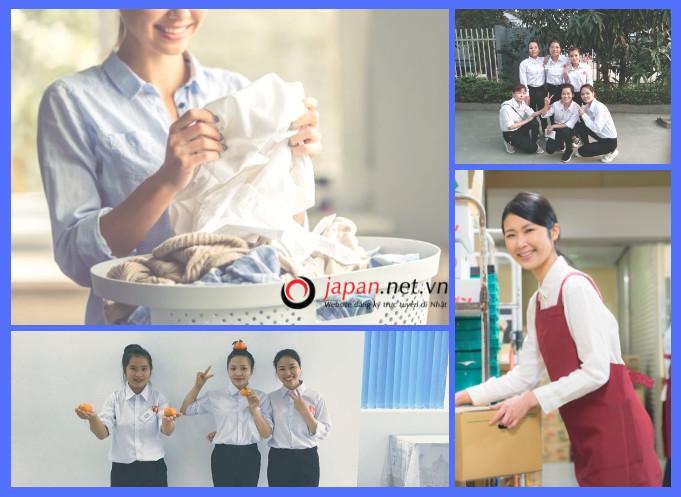 Cần gấp 24 nữ đơn hàng giặt là tại Saitama Nhật Bản- thu nhập 30 triệu/ tháng