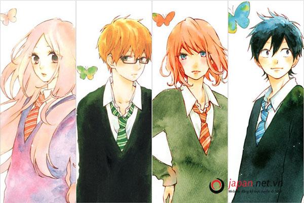 [REVIEW] TOP 7 truyện tranh manga tình cảm học đường