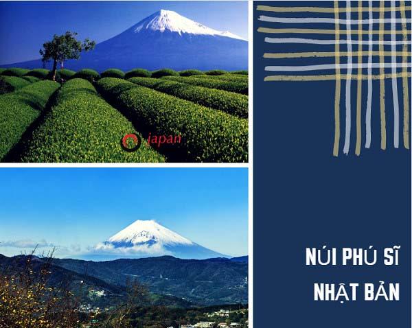 Quang cảnh núi fuji từ nhiều góc độ