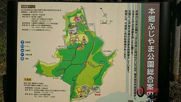 Bản đồ địa điểm của núi phú sĩ tại nhật bản
