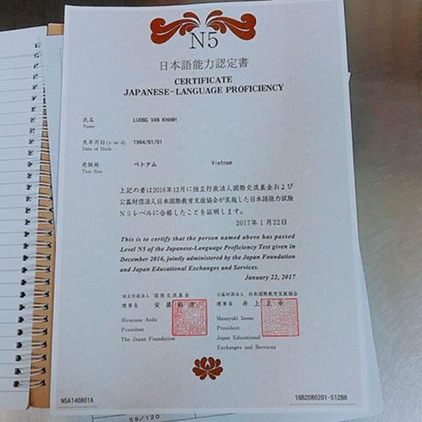 2 cách giúp bạn nhận bằng tiếng Nhật JLPT nhanh chóng