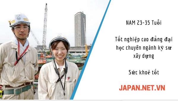 Lương kỹ sư xây dựng Nhật Bản là bao nhiêu?