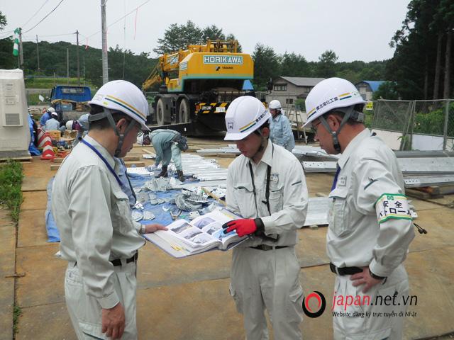 Đơn hàng đi Nhật - Tuyển 24 nam kỹ sư kết cấu xây dựng tại Osaka, thu nhập hấp dẫn